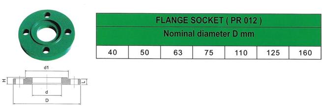 ppr-flanged-socket-details